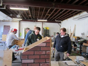Little Library Build Day 4-11-15 (5)