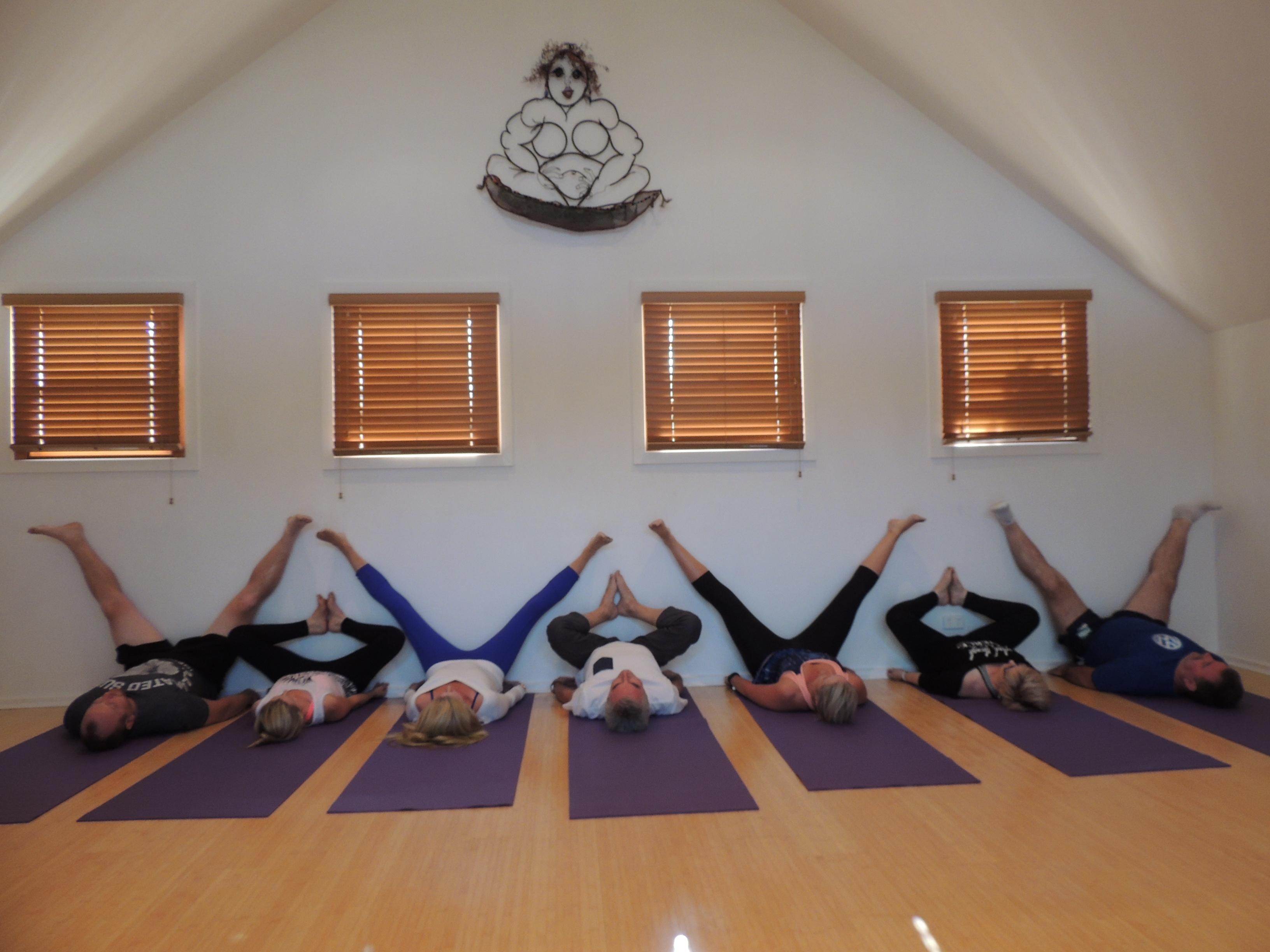 Yoga Class beautiful studio