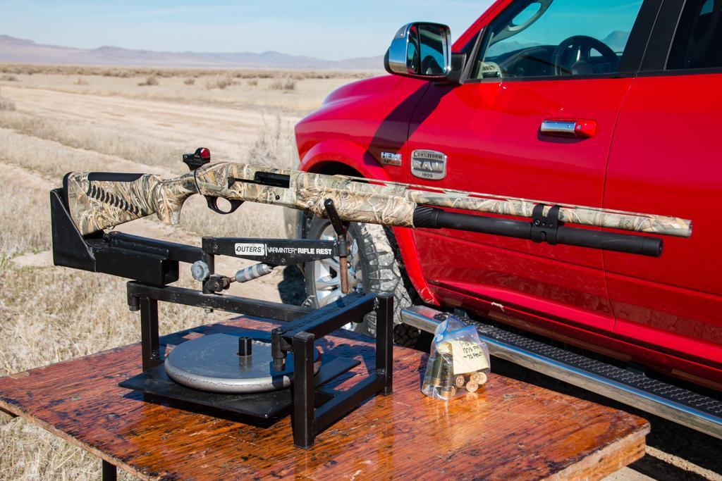 TSS Coyote Load Pattern Testing