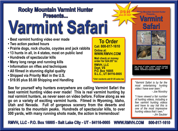 First Varmint Safari ad