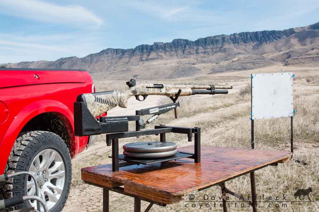 Shotgun patterns for coyote hunting