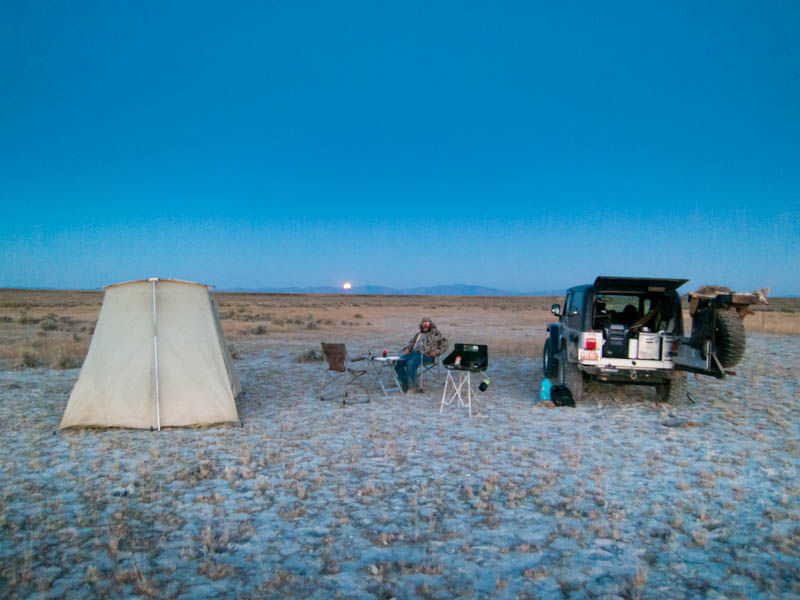 Dry lake beds are favored spots