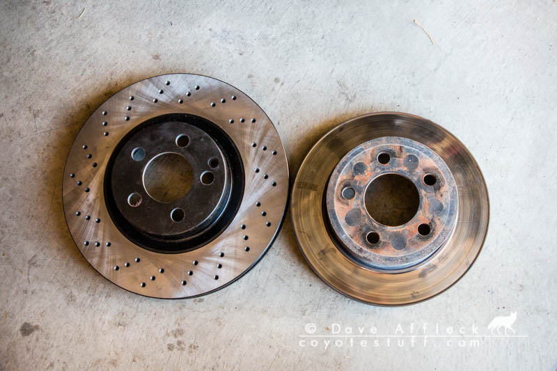 LJ rotors next to S550 rotors