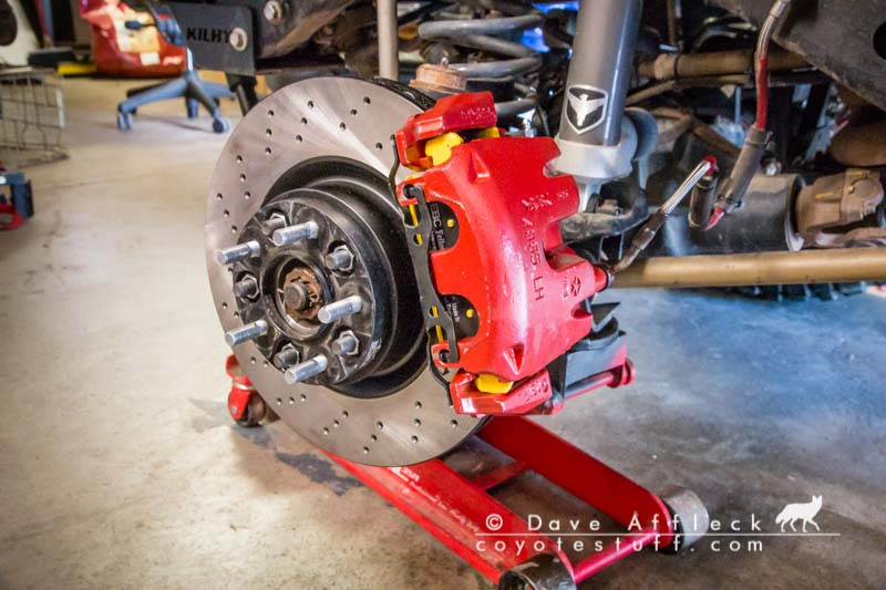 DIY Big Brake Kit for TJ/LJ