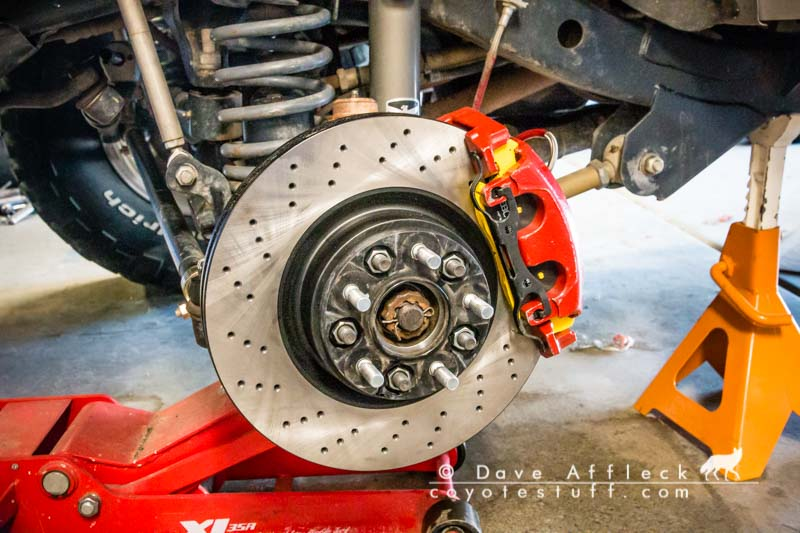 New bigger, better brakes