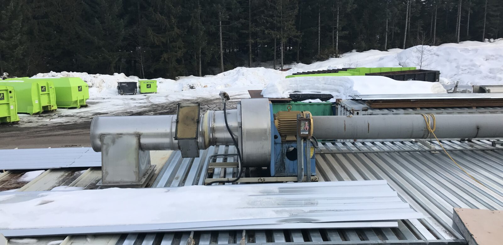 Resort Municipality of Whistler (RMOW) – Composting Facility Heat Recovery System