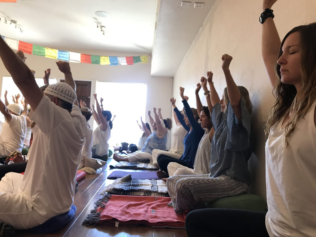 Students at Great Divine Flow Yoga Studio in Vista, CA (Vista, California)