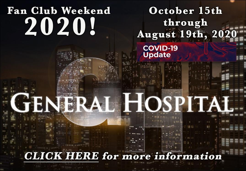 Your #1 Fan - General Hospital Fan Club Weekend 2020!