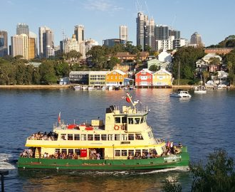 Ferry from Balmain East