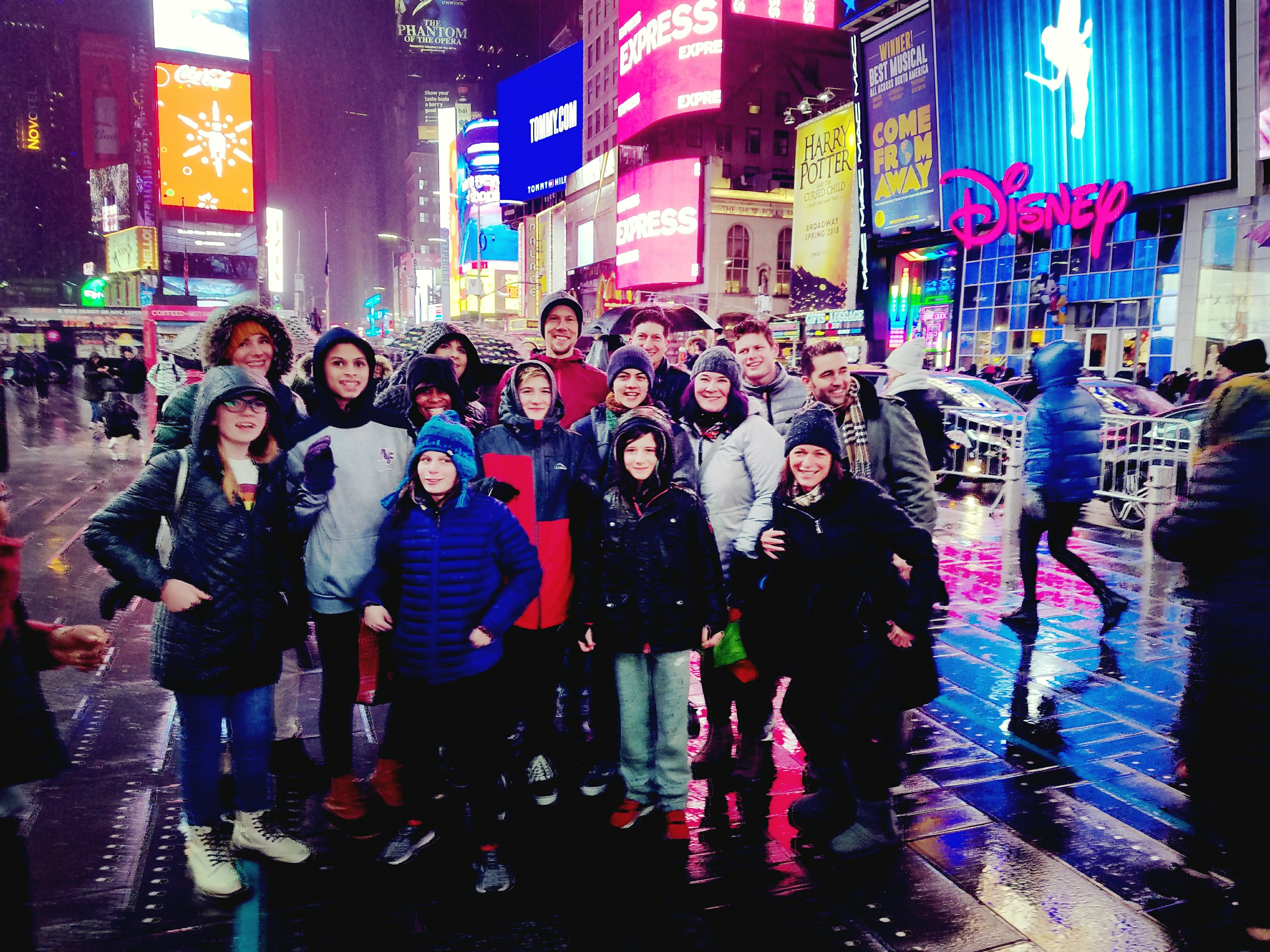 The GenderCool Project kids and team members in NYC