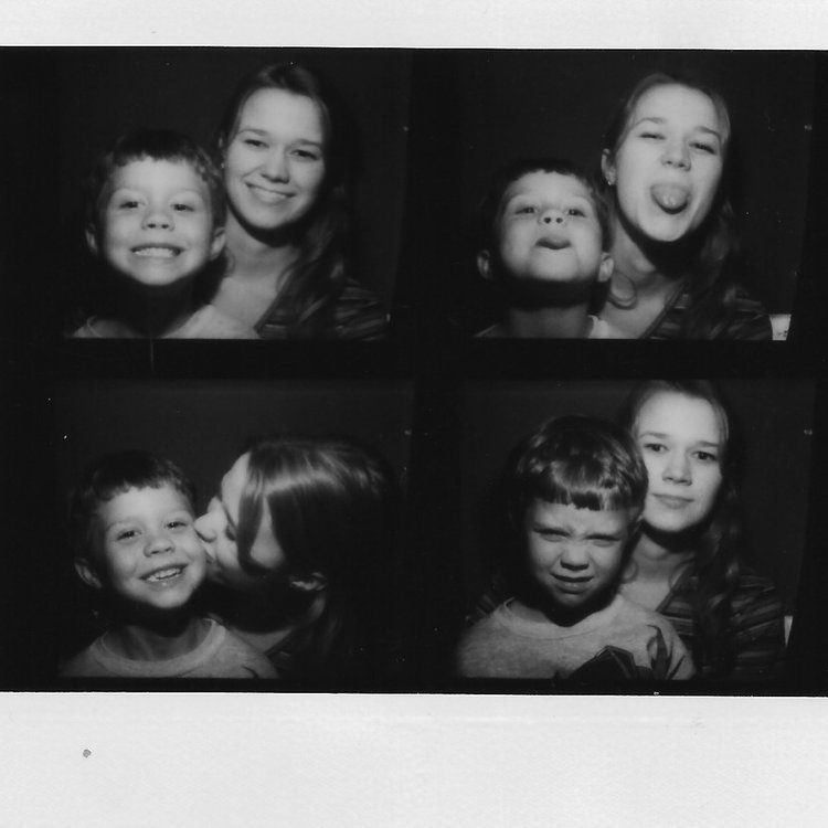 Kimberly and her son have always had a wonderful time together.