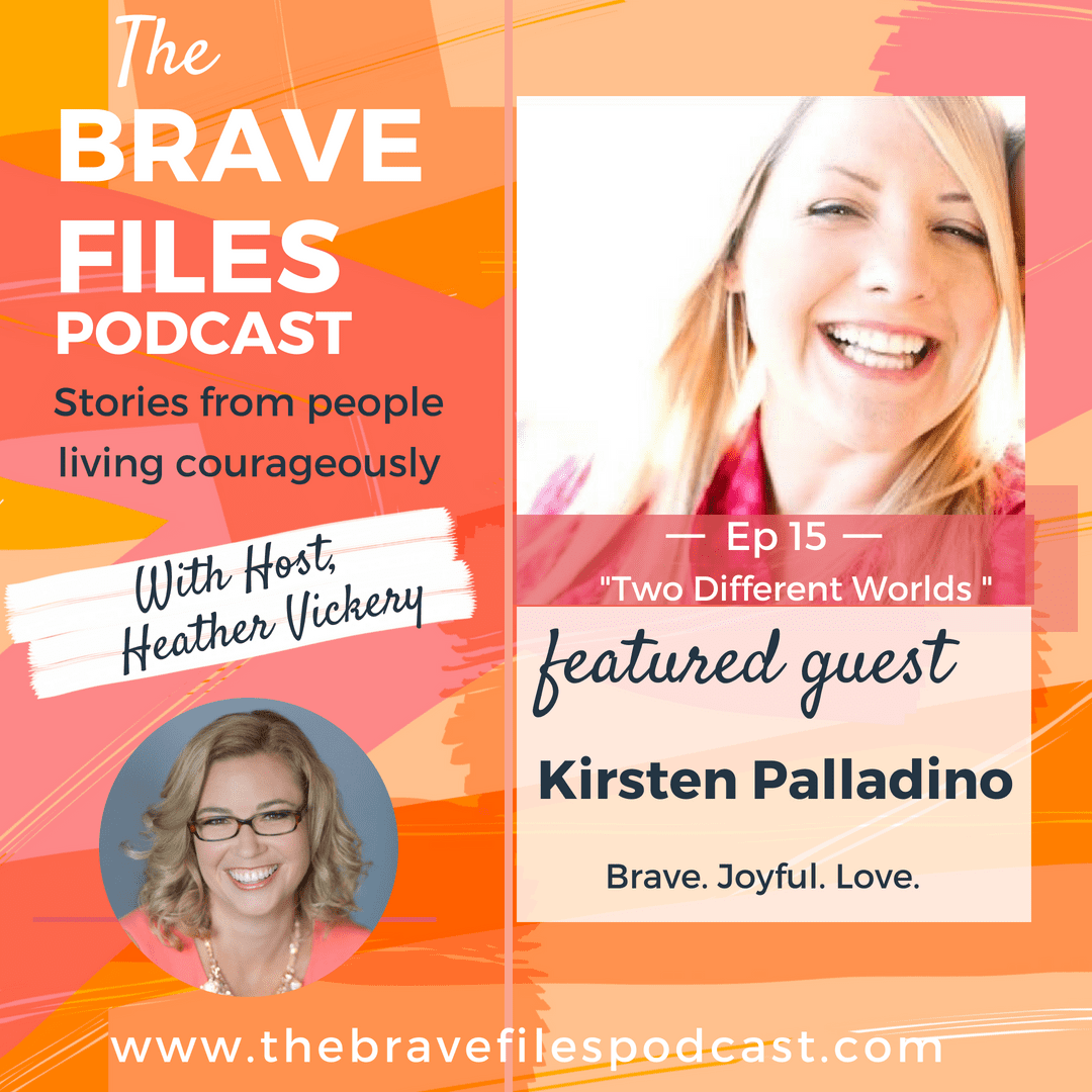 The Brave Files Podcast welcomes author and survivor, Kirsten Palladino