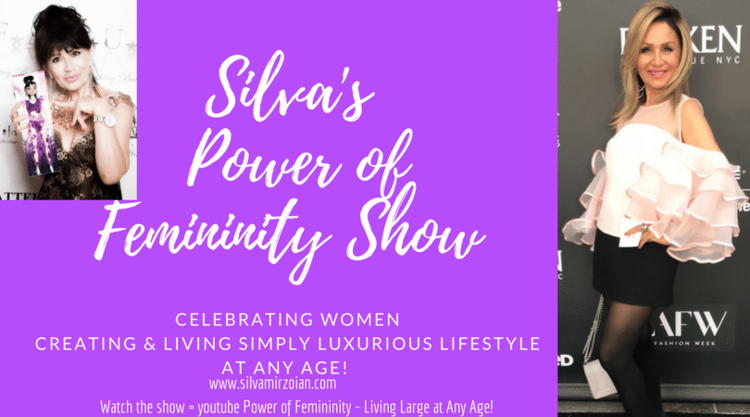 "Transform, empower - Silva has a YouTube show called ""The Power of Femininity"