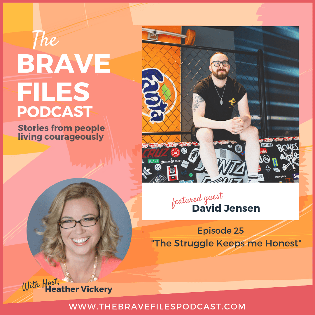 David Jensen talks about struggle, mental health and practicing daily