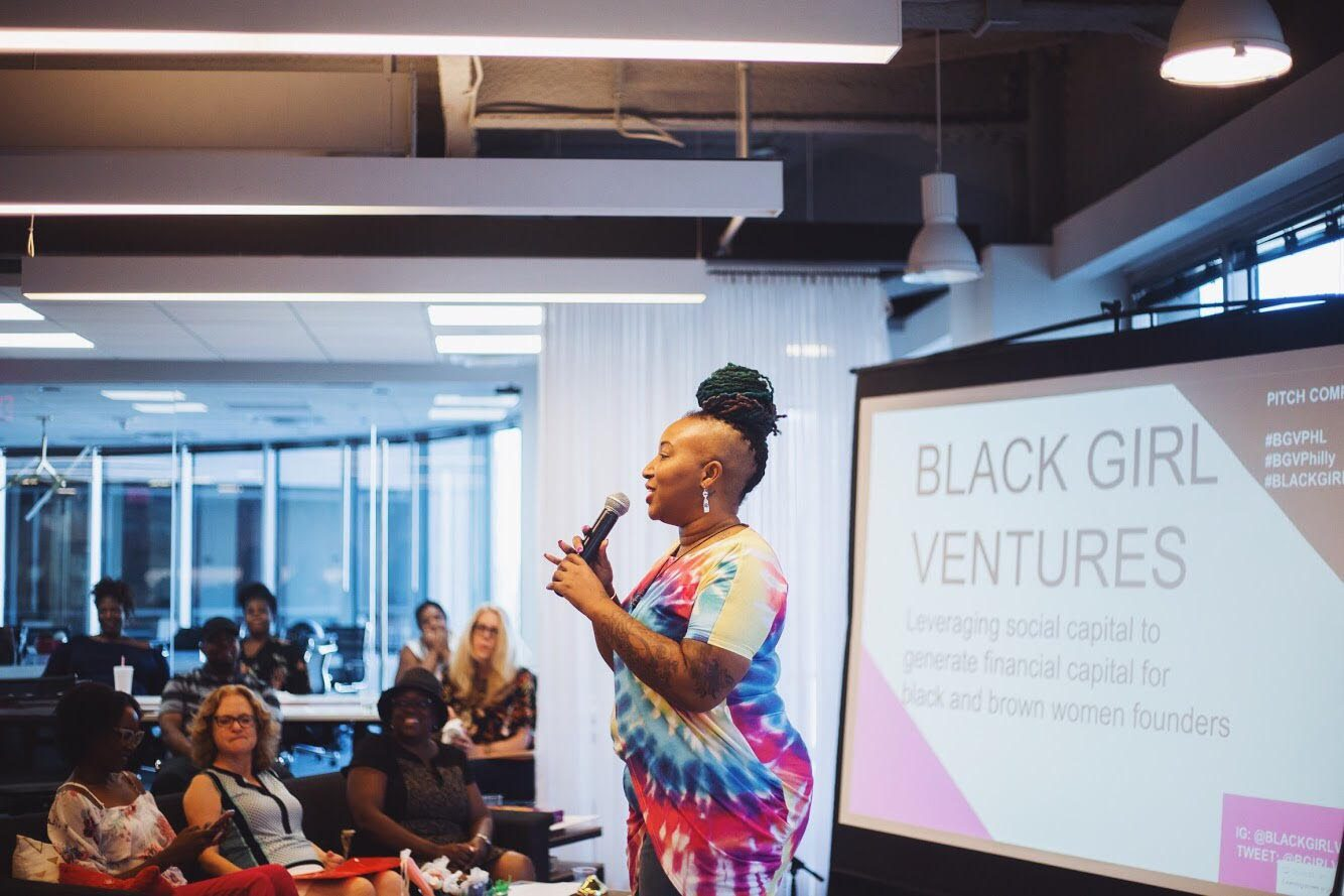 Pitch Competition, Black Girl Ventures, Shelly Bell