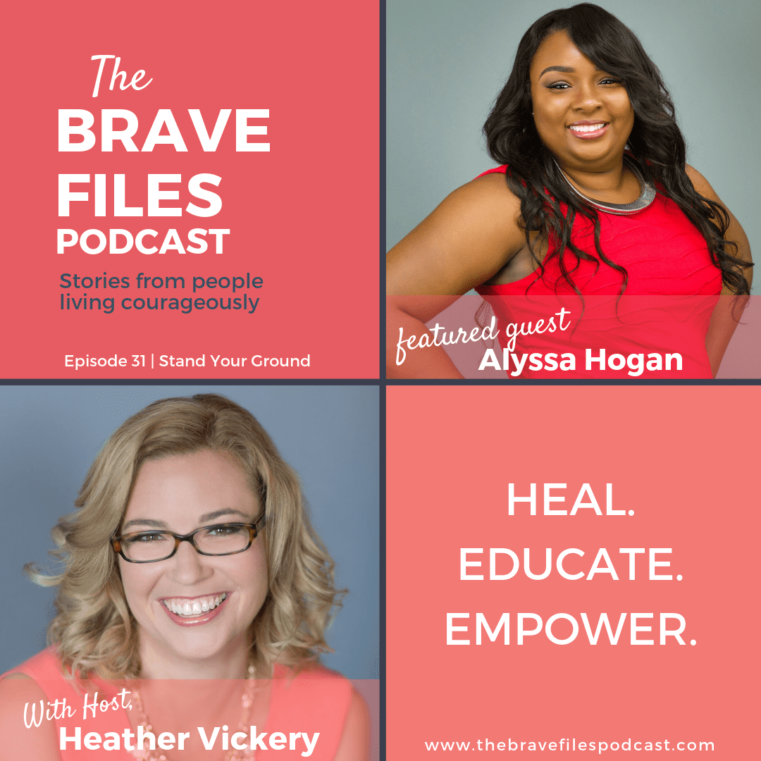 Alyssa Hogan joins The Brave Files Podcast to talk about standing trial for her abusive husbands murder