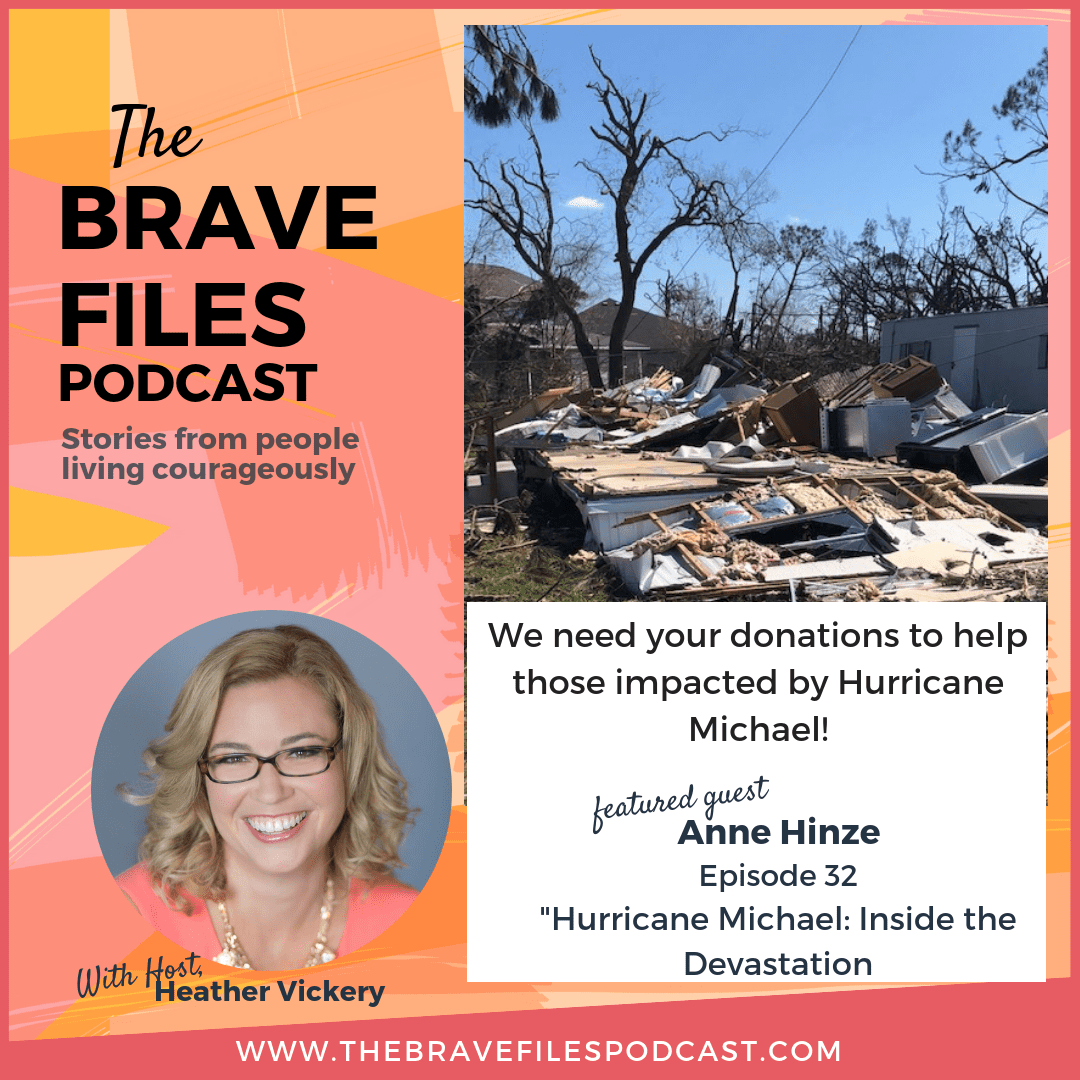 Hurricane Michael - DONATIONS AND SUPPORT NEEDED. The Brave Files Podcast.