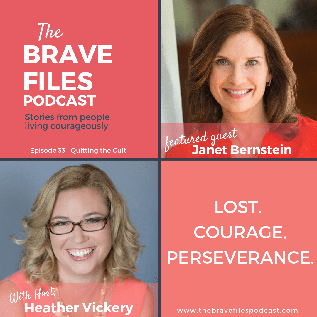Quitting the Cult. The Brave Files Podcast.