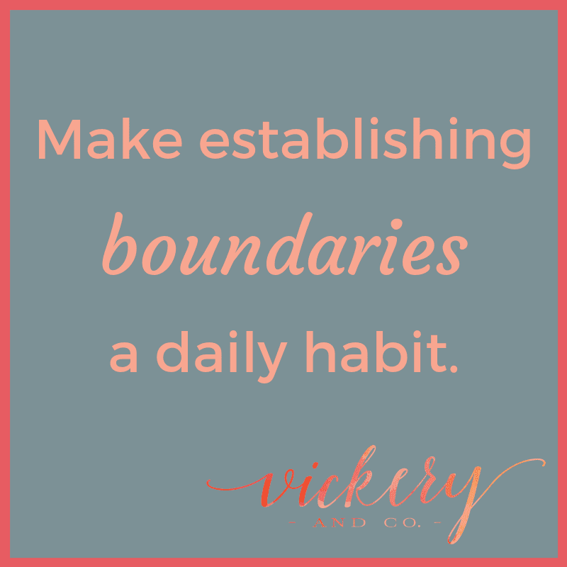 Success and Leadership Coach, Heather Vickery tells you how boundaries are your key to freedom and how to implement them today. Free Download!