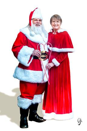 Danny Jones and his wife are Santa and Mrs. Claus. The Brave Files Podcast.
