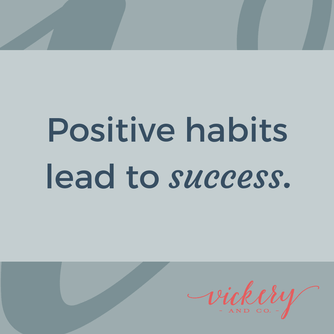 Success and Leadership Coach, Heather Vickery talks about building powerful habits for success.