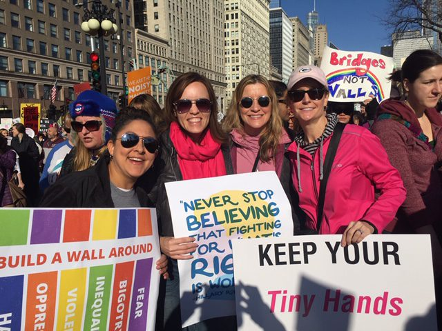 Nicole Zenner Women's March. The Brave Files Podcast.