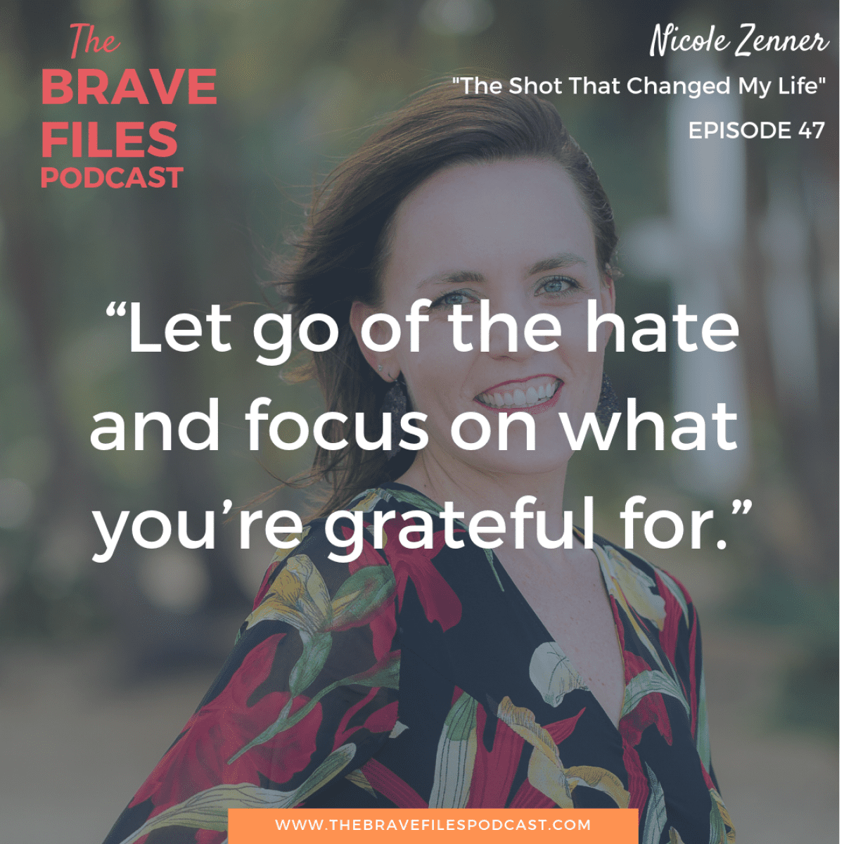 Nicole Zenner went from being a victim to an activist. After a terrifying and life threatening experience, she chose love and restorative justice. Hear her story on The Brave Files Podcast