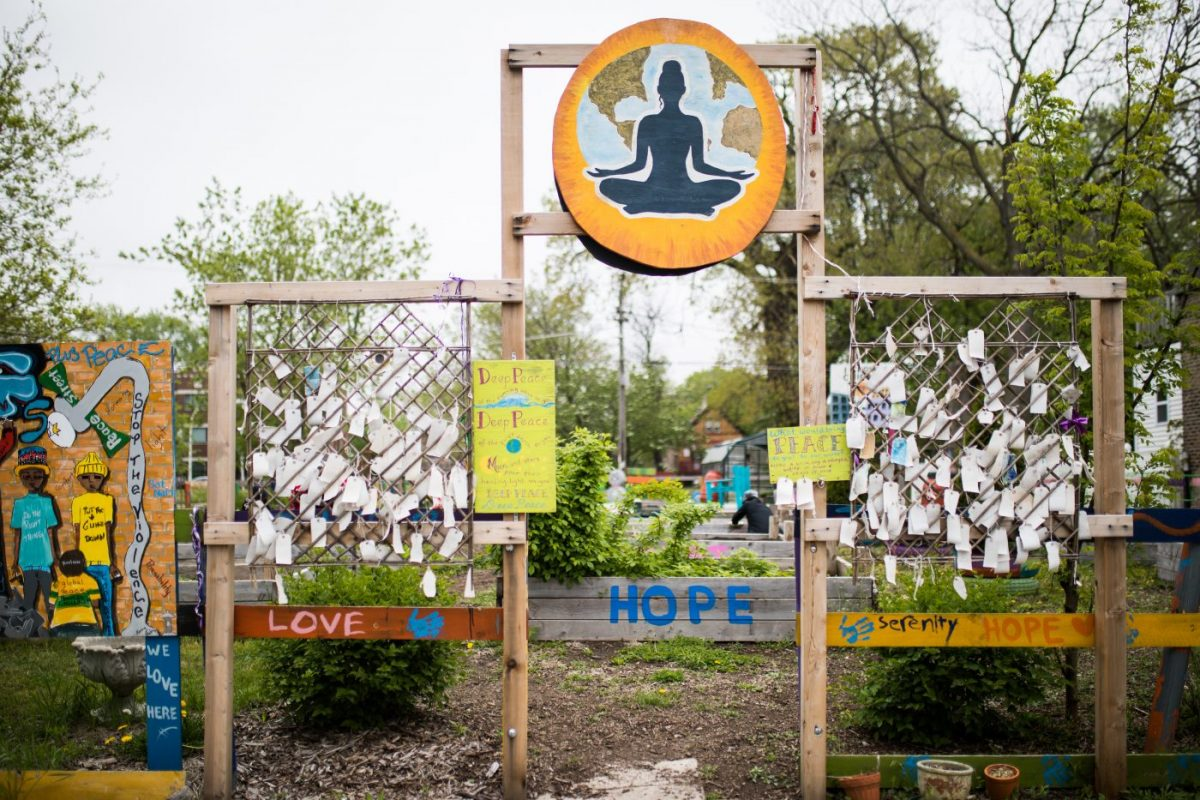 Healing and restorative justice happen in I Grow's beautiful peace garden. The Brave Files Podcast.