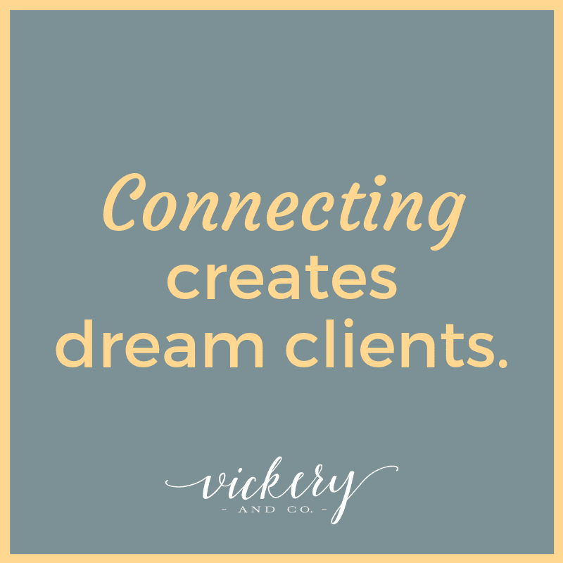 Heather Vickery is a success and leadership coach. She encourages you to make powerful connections to create dream clients!
