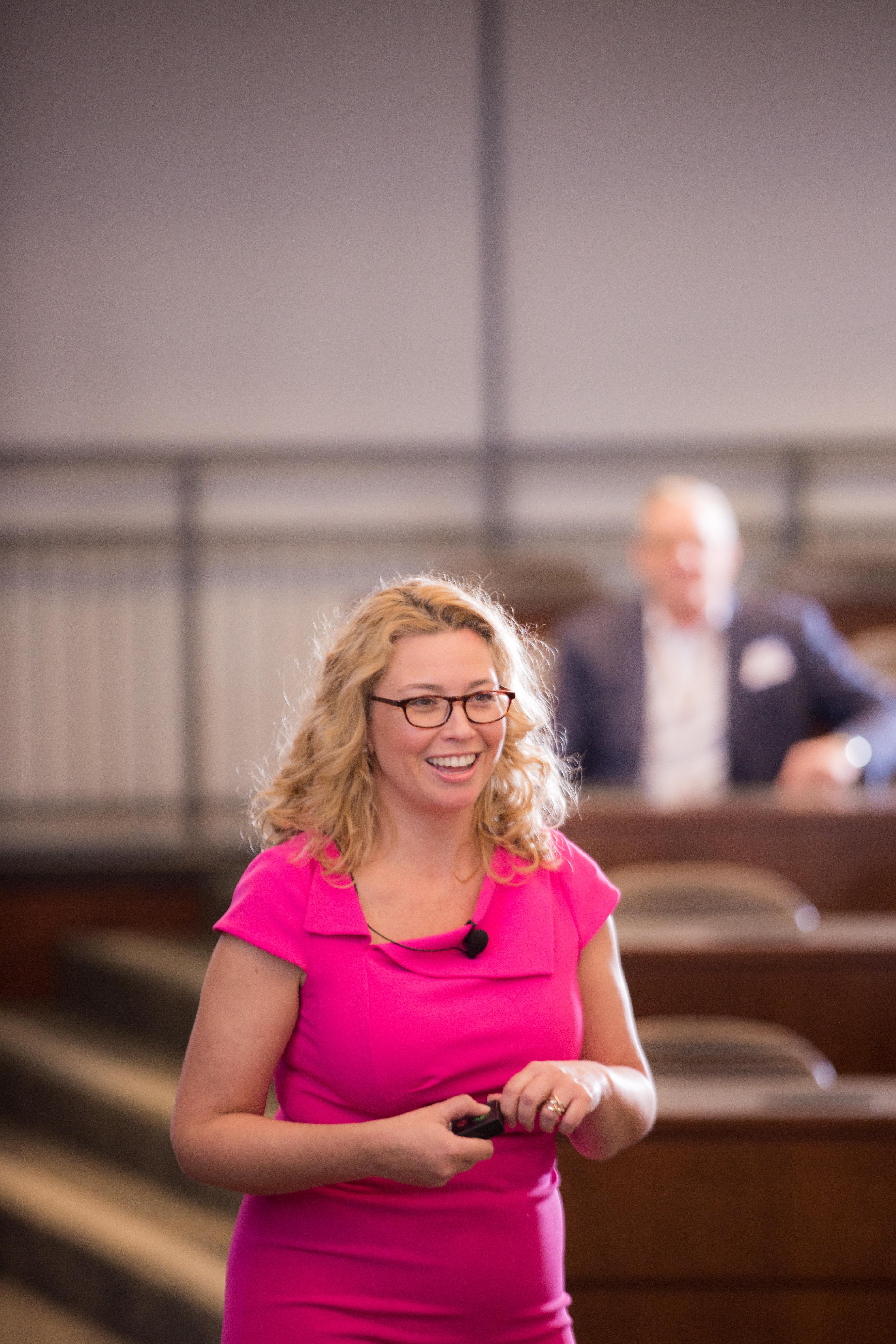 Heather Vickery, Success and Leadership Coach, Keynote Speaker, ILEA Day of Education.