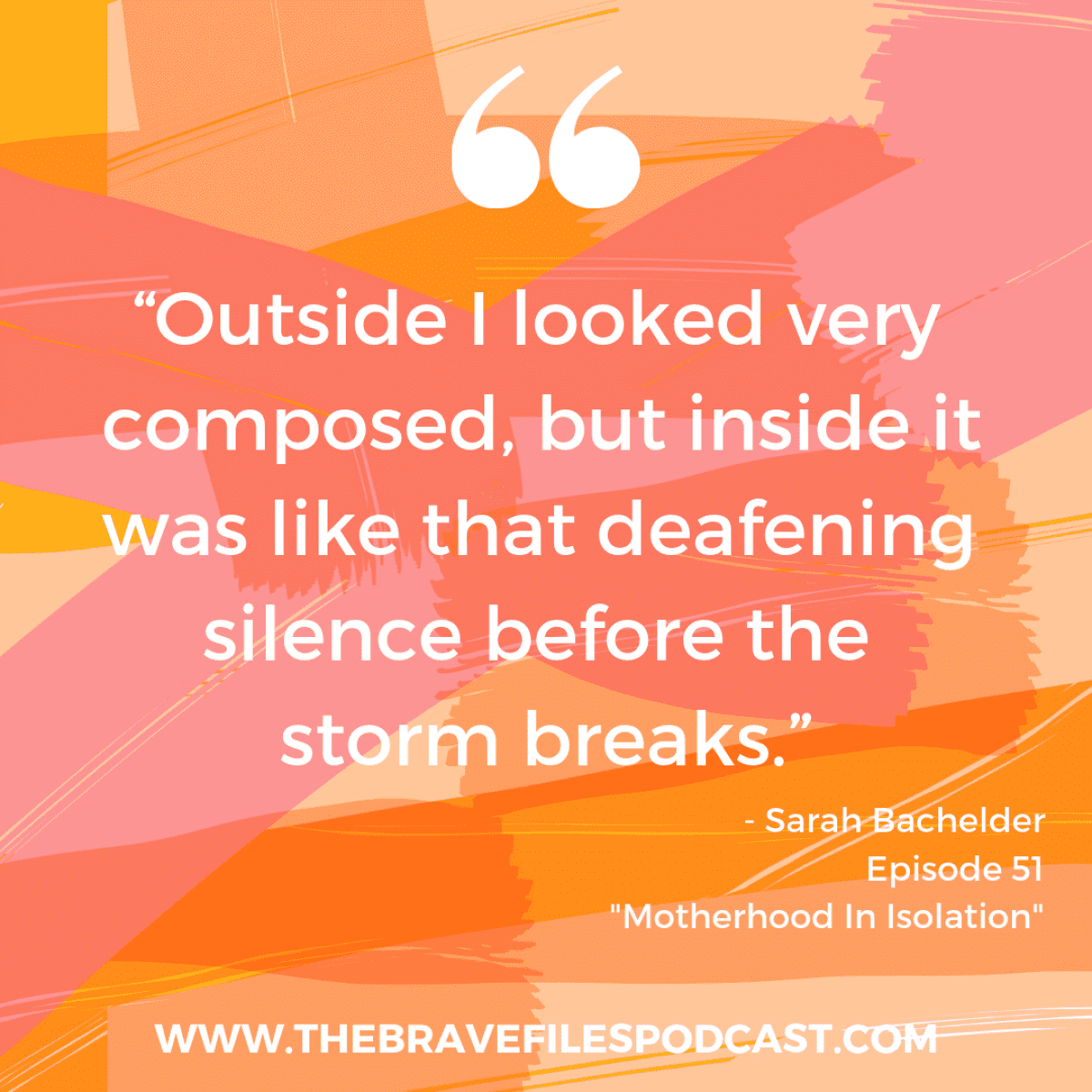 Sarah Bachelder shares her journey through Childhood cancer with her two-year-old son, living in isolation and depression and learning to give herself grace and connection. The Brave Files Podcast.