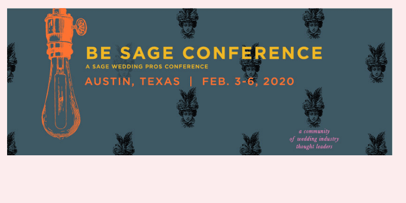 Heather Vickery to speak at the Be Sage Conference. February 2020.