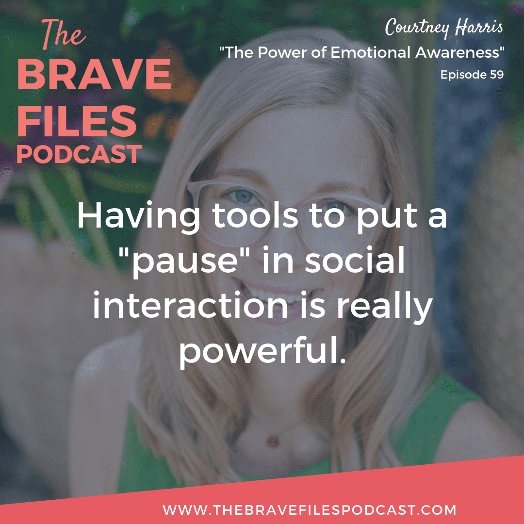 Understanding the importance of communication and connection, Courtney Harris coaches teens on how to effectively express their emotions in order to promote healthy relationships. The Brave Files.