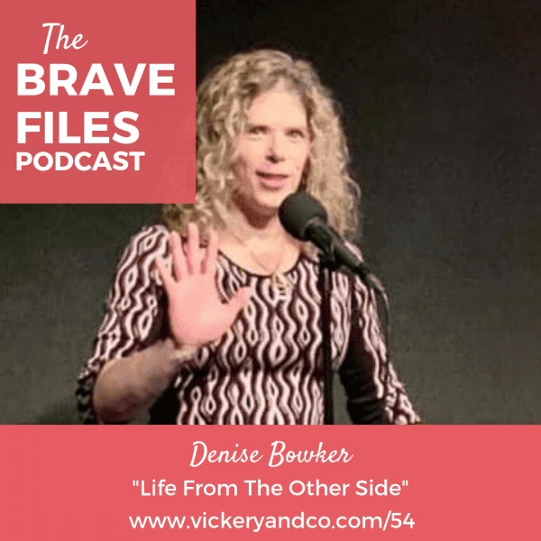 Denise Bowker, Transgender woman, Joins Heather on The Brave Files Podcast to share her unique story of transformation. LGBTQ