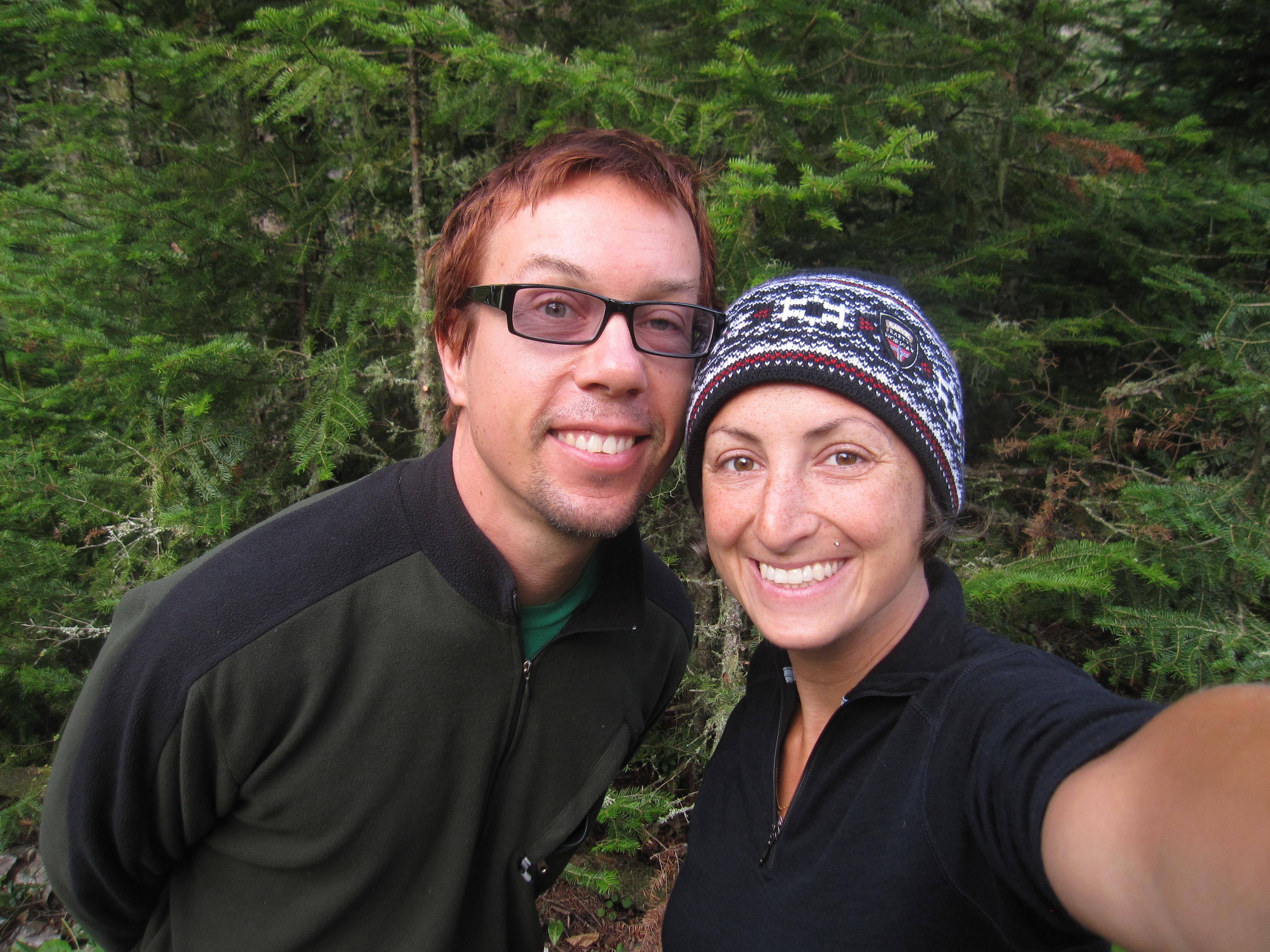 Shayna Norwood and her husband on their honeymoon.