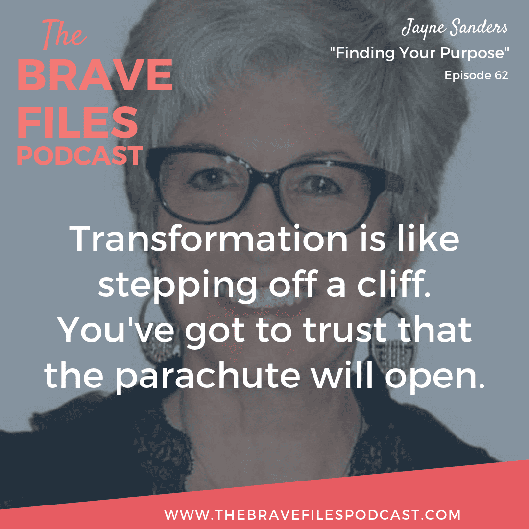 Jayne Sanders discovered her life purpose as a Master Scientific Hand Analyst and Purpose Coach focusing on the Law of Attraction. The Brave Files.