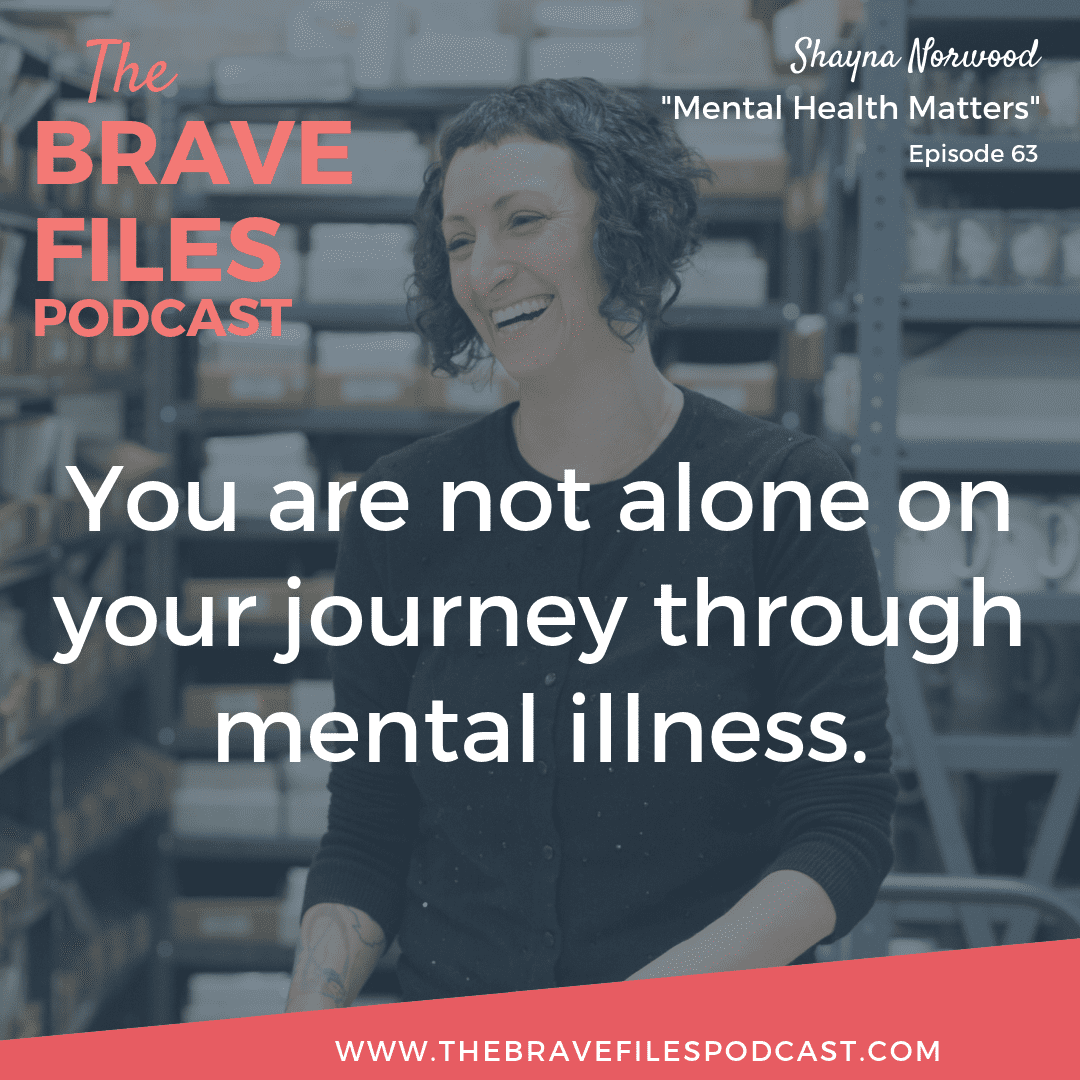 Shayna Norwood bravely shares her story of accepting and understanding her mental illness, learning to rebuild her life and how she copes on a daily basis. The Brave Files.