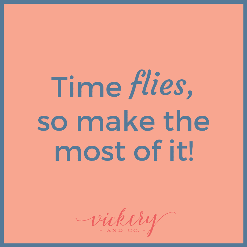 Making the most of your time. Heather Vickery
