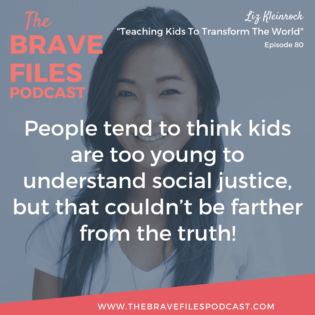 Social Justice, Anti-Racism: As an anti-bias educator and consultant, Liz Kleinrock works to give children access to language and conversations many people assume too complex for young minds. The Brave Files.