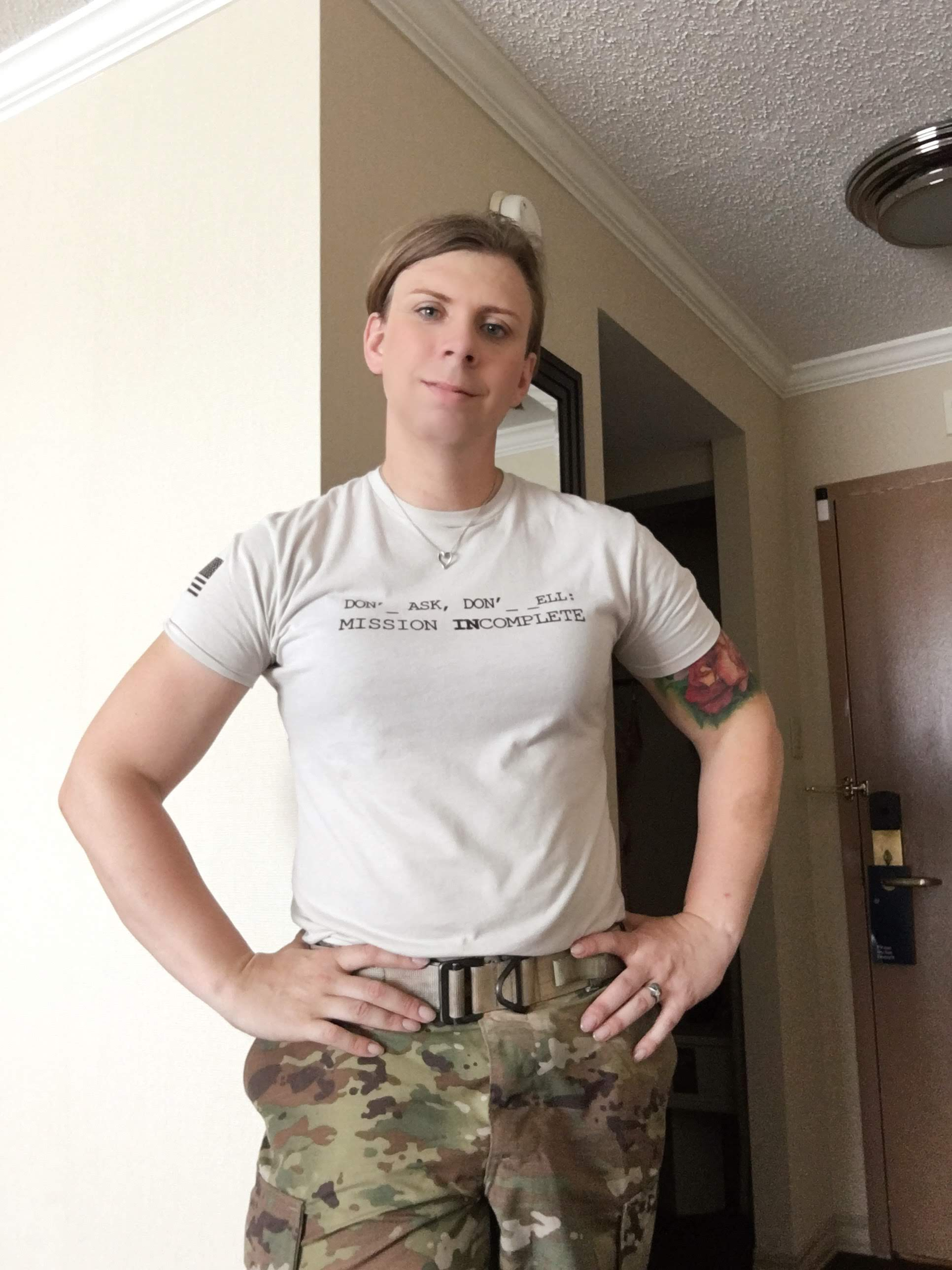 Trish King is America's first transgender infantryman. After a 20 year military career, she now fiercely advocates for the rights of LGBTQ service members and all marginalized communities across our country. The Brave Files.