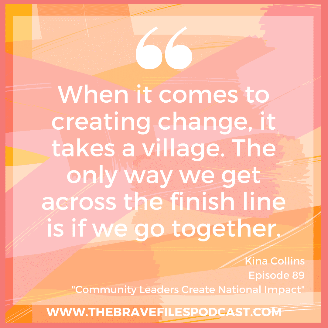 Kina Collins is a nationally recognized gun violence prevention and health care advocate who is running for the Illinois 7th Congressional District seat in the Democratic primary. Learn more about Kina's plans for putting working family agendas first while demonstrating that real change happens when we push forward – together! The Brave Files.
