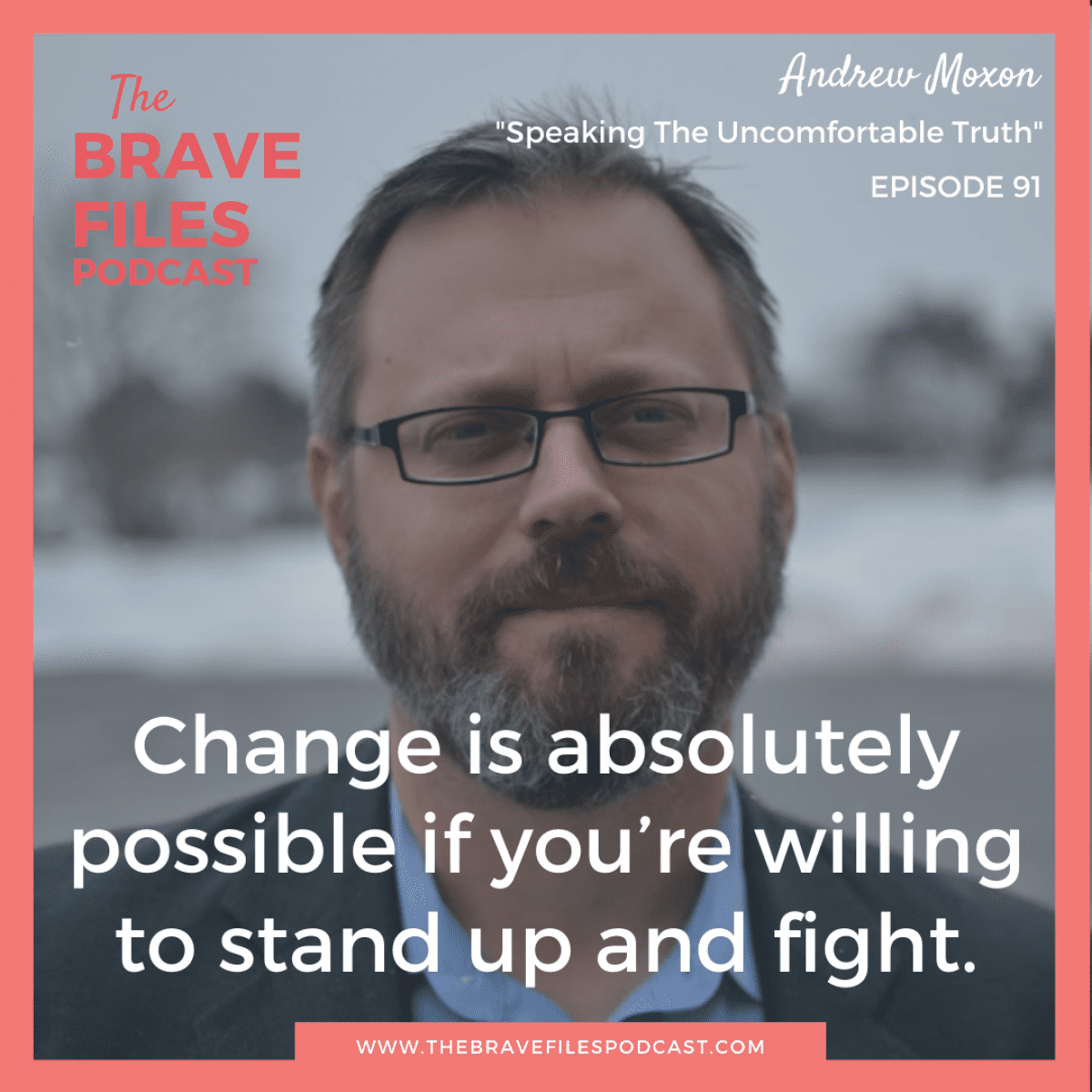 """Andrew Moxon is a writer who went viral on Twitter after comparing microaggressions of general violence towards women to being """"kicked in the balls."""" He chooses to create an atmosphere of change, because we CAN make a difference if we stand up and fight! The Brave Files."""