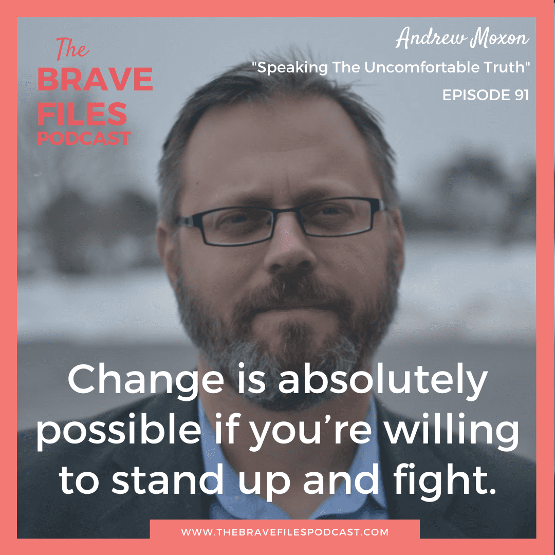 "Andrew Moxon is a writer who went viral on Twitter after comparing microaggressions of general violence towards women to being ""kicked in the balls."" He chooses to create an atmosphere of change, because we CAN make a difference if we stand up and fight! The Brave Files."