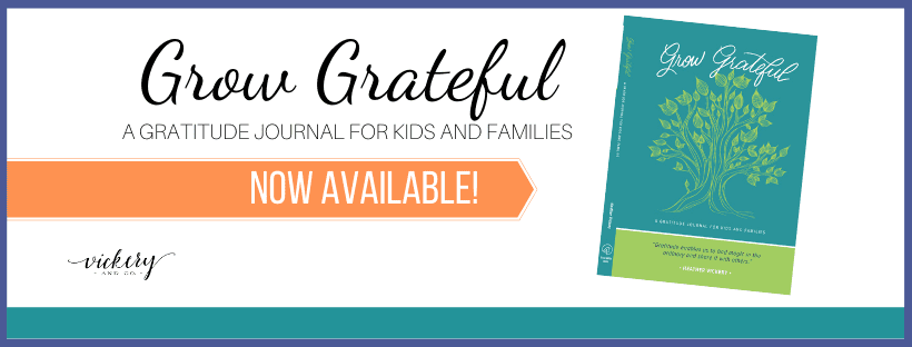 Grow Grateful: A Gratitude Journal for Kids and Families