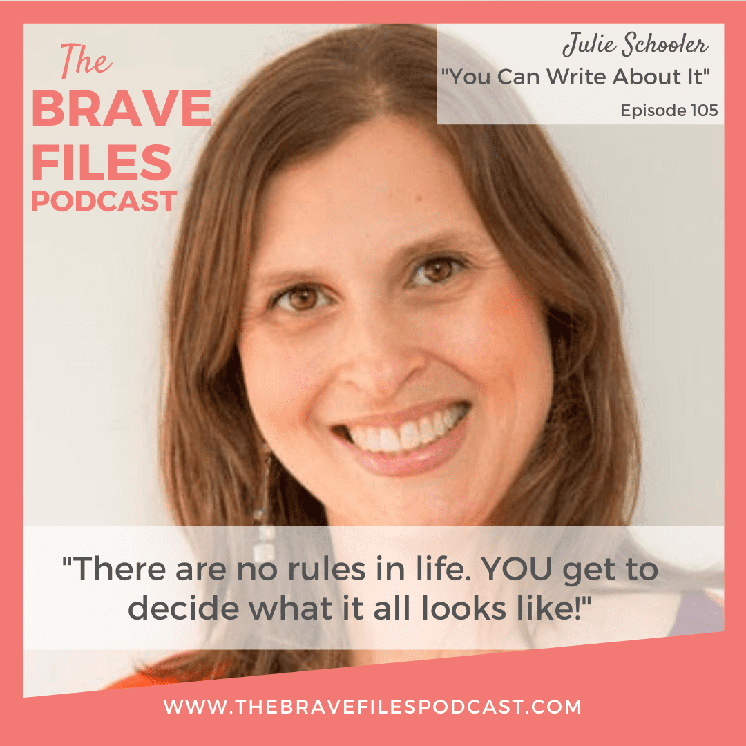 Julie learned to pick herself up, battle through imposter syndrome, and achieve her goals all while maintaining balance as a mom of two small children. Her story shows us that we all get to choose our own path. There are no rules when it comes to creating a happy life!