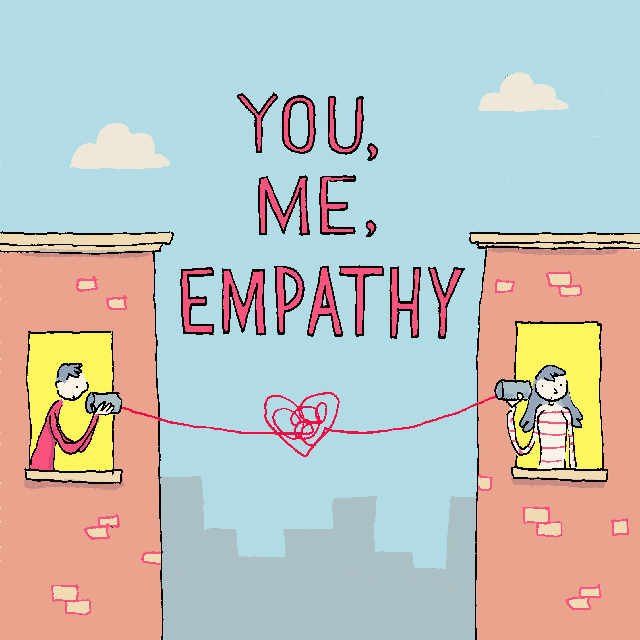You, Me, Empathy Podcast - Non Wels, The Brave Files Podcasr