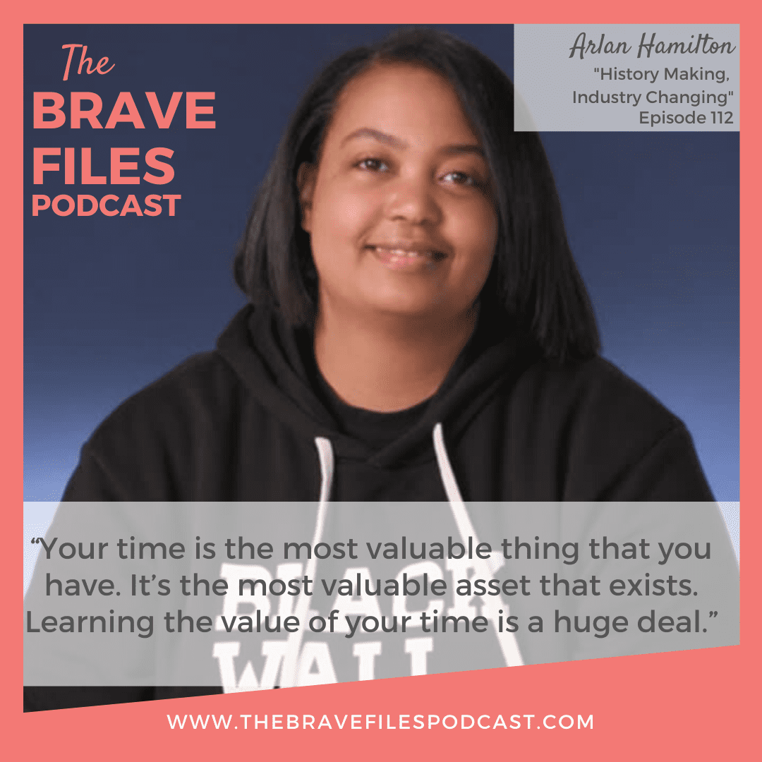 In under 5 years, Arlan Hamilton went from homelessness, sleeping on the floor of the San Francisco airport, to being the only Black Lesbian to successfully build a venture capital firm from scratch. Today, Arlan is launching her highly anticipated book and sharing insights on bravery and boundaries. The Brave Files Podcast. LGBTQ