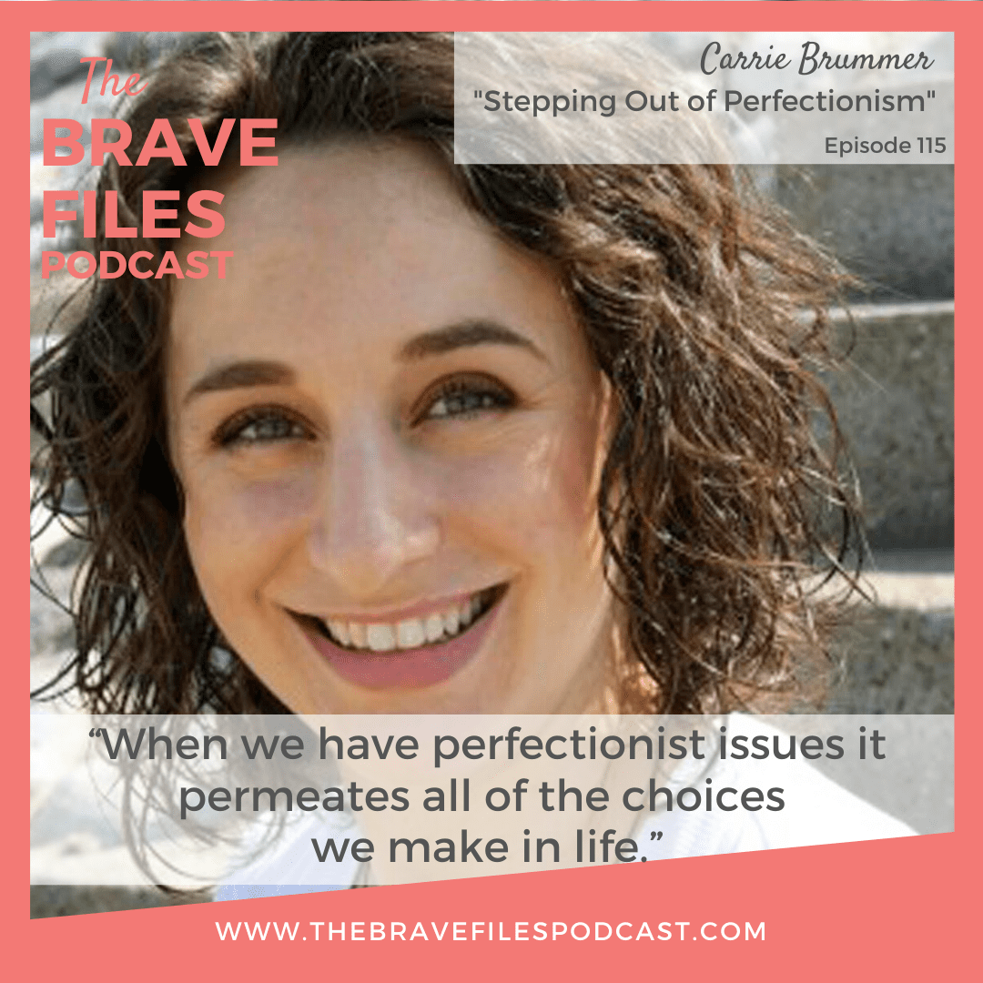 Carrie Brummer shares her intimate life story about becoming a recovered perfectionist, an artist, and overcoming life-threatening ailments by learning to let go and trust the process.