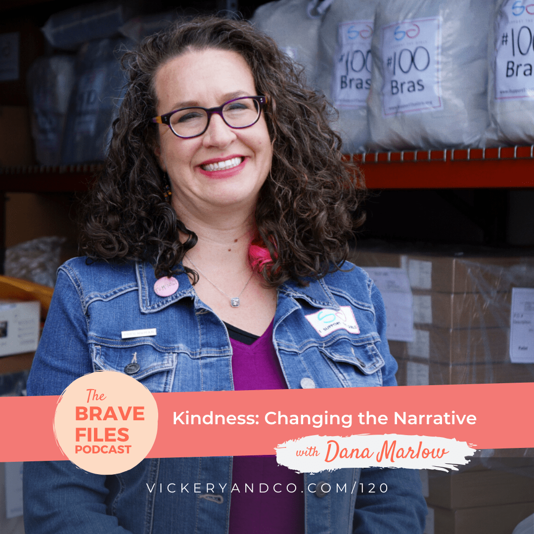 Dana Marlowe was an average suburban mom when a casual conversation changed the trajectory of her life. Now she runs an international not for profit, I Support The Girls, and provides homeless women and girls with much needed bras and feminine hygiene products. Kindness changes the conversation. The Brave Files Podcast.