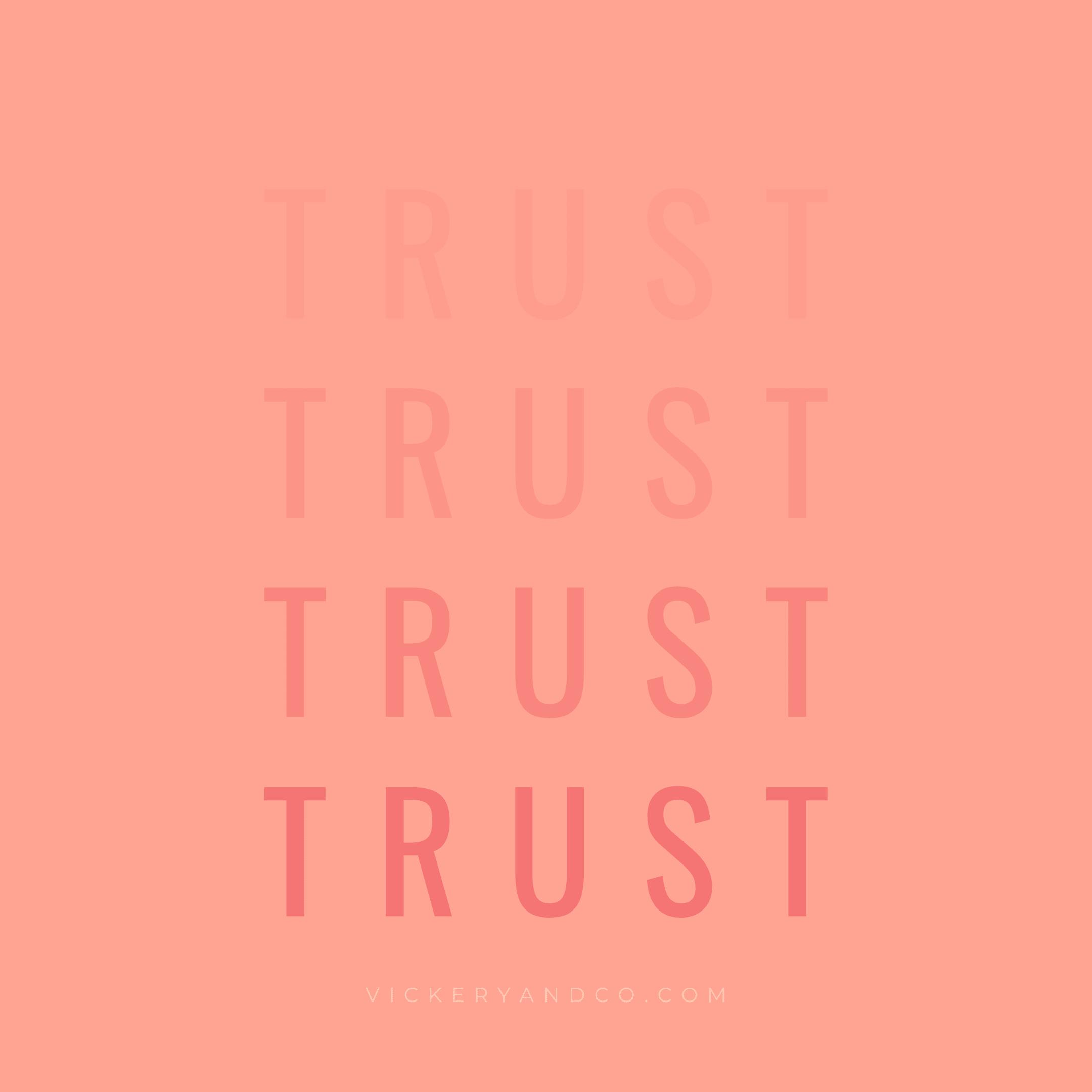 Trust yourself! Heather Vickery, Brave, Leadership, self-trust, entrepreneurship, Vickery and Co.